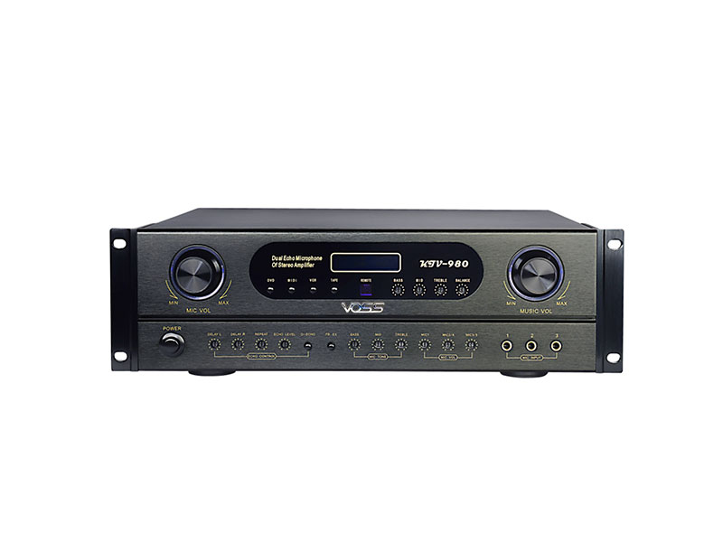 KTV-980 Karaoke Amplifier